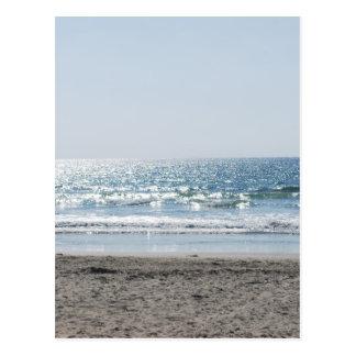 Playa OC California meridional - vista al mar Tarjetas Postales