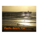 Playa pacífica, CA Postales
