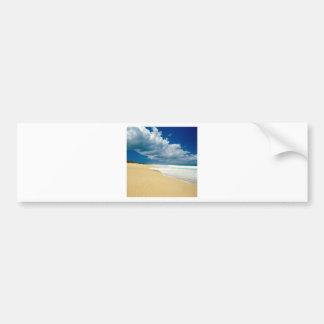 Playa Papohaku Molokai Hawaii Pegatina Para Auto