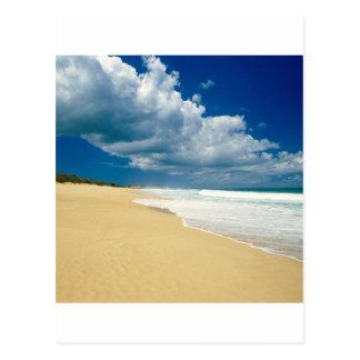 Playa Papohaku Molokai Hawaii Tarjeta Postal