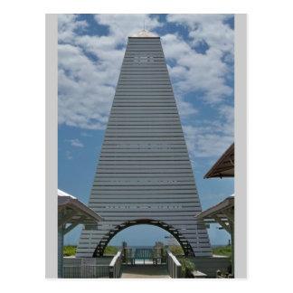 Playa, paseo marítimo de la Florida Tarjetas Postales
