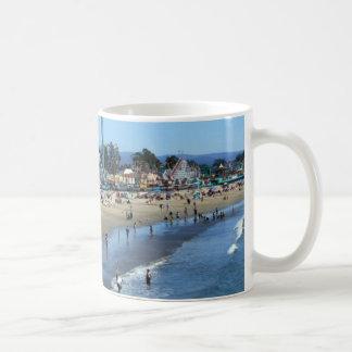 Playa/paseo marítimo de Santa Cruz Taza De Café