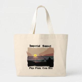 Playa Pelada Sunset Large Tote Bag