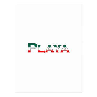 Playa (Playa del Carmen) Postcard