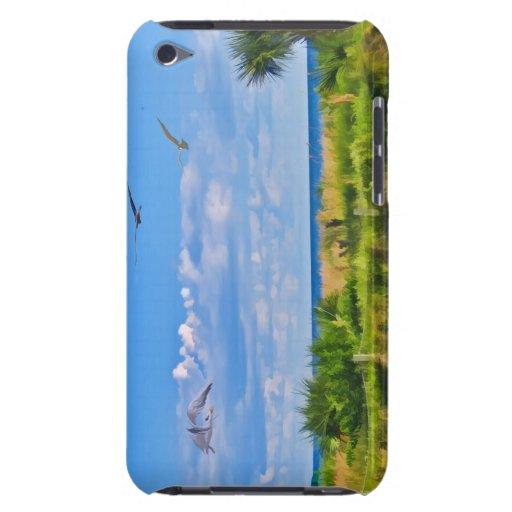 Playa, playa, y pájaros Case-Mate iPod touch cobertura