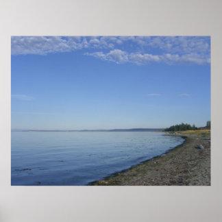 Playa Póster