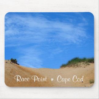 Playa Provincetown Cape Cod Mousepad del punto de