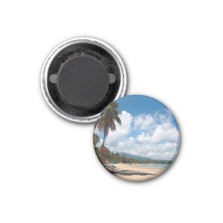 Playa Puerto Rico de Luquillo Imán Redondo 3 Cm