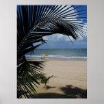 Playa Puerto Rico de San Juan Posters
