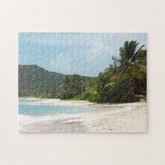 Playa Puerto Rico del flamenco de Culebra Puzzles Con Fotos