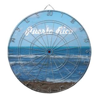 Playa puertorriqueña tablero dardos