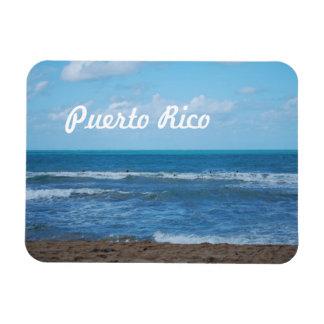 Playa puertorriqueña iman flexible