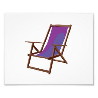 playa púrpura chair.png de la tela fotografía