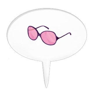 playa púrpura sunglasses.png de las lentes del ros figuras de tarta