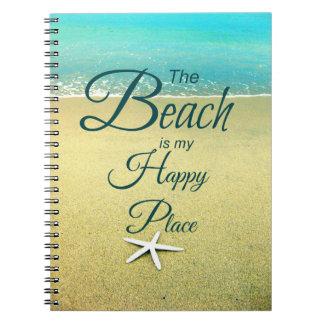 Playa que dice el cuaderno