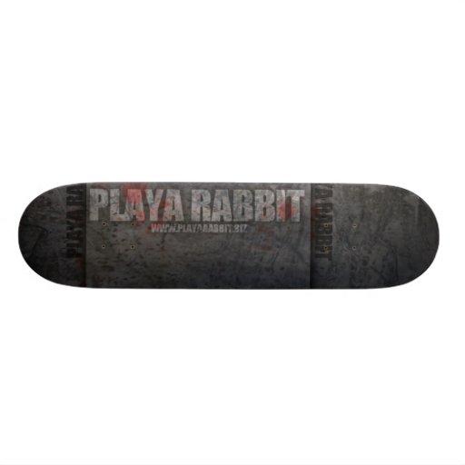 Playa Rabbit Kick & Push Custom Skate Board