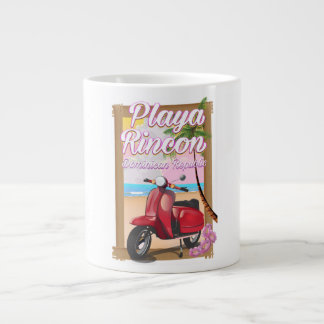Playa Rincon Dominican Republic Large Coffee Mug