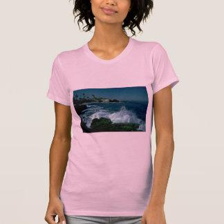 Playa rocosa camiseta