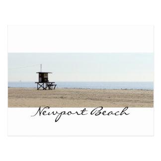 Playa romántica de Newport Postal