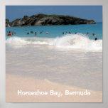 Playa rosada #1, bahía de herradura, Bermudas de l Posters