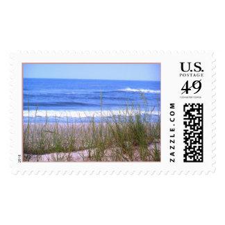 Playa Sellos Postales
