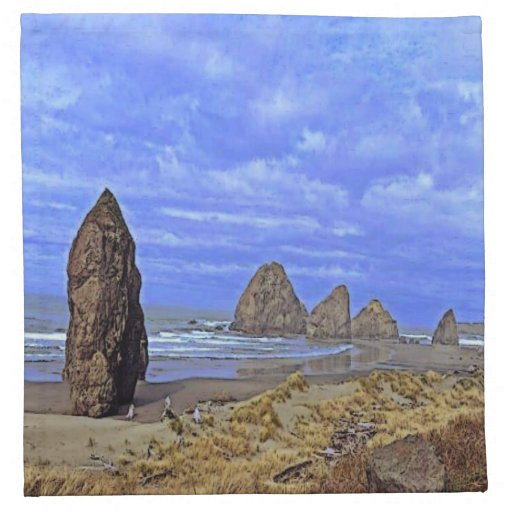 Playa serena servilleta