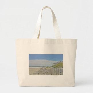 playa sola bolsa tela grande