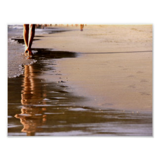 Playa solar, poster