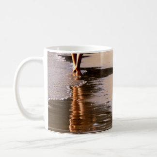 Playa solar, taza de café