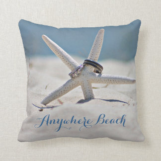 Playa soleada adaptable con los anillos de las cojín