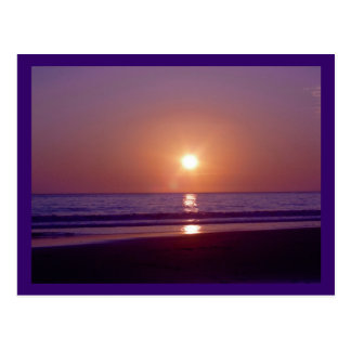Playa Sun Tarjeta Postal