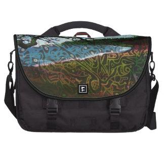 Playa surrealista bolsas de ordenador