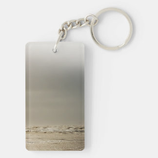 Playa tempestuosa llaveros