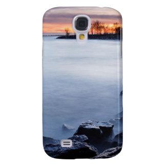 Playa Toronto Ontario Canadá del Woodbine en la sa Funda Para Galaxy S4