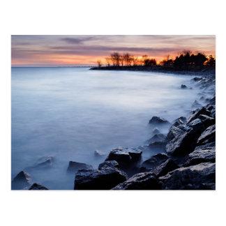 Playa Toronto Ontario Canadá del Woodbine en la sa Tarjetas Postales