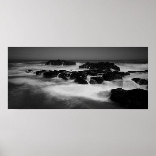 Playa trasera del Flinders Posters