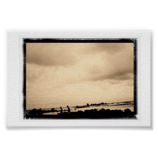 Playa Trengandín Poster