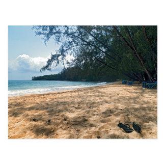 Playa tropical de la isla, Camboya Tarjetas Postales