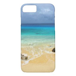 Playa tropical de la isla del paraíso funda iPhone 7