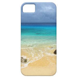 Playa tropical de la isla del paraíso iPhone 5 carcasa