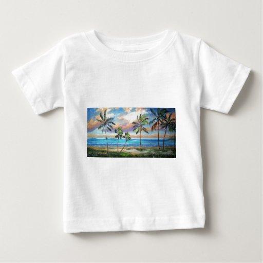Playa tropical de la isla playeras
