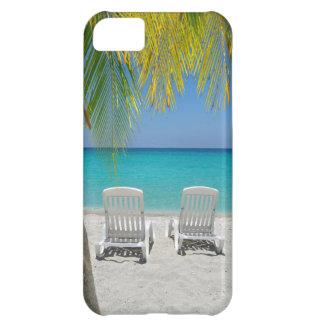 Playa tropical del paraíso en el Caribe Funda Para iPhone 5C