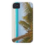 Playa tropical del paraíso Case-Mate iPhone 4 protector