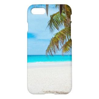 Playa tropical del paraíso funda para iPhone 7