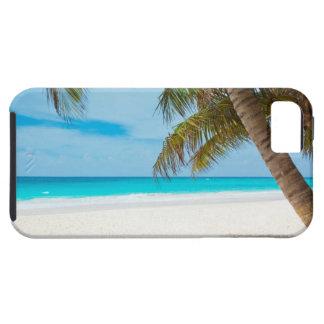Playa tropical del paraíso iPhone 5 funda