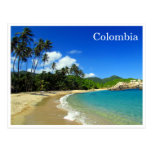 playa tropical del tayrona postal
