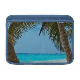 Playa tropical funda macbook air