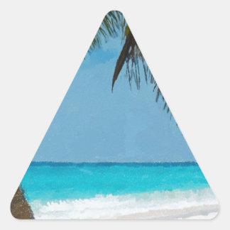 Playa tropical colcomanias triangulo