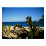 Playa tropical posters
