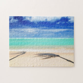 Playa tropical puzzle